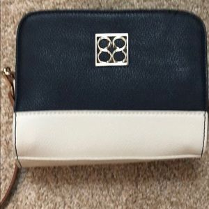 Handbags - Jessica Navy Color Block Navy plus size Crossbody